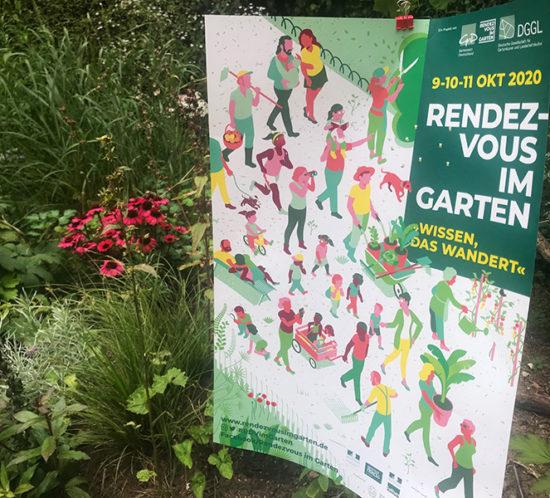 Rendezvous im Garten 2020 - Druckmaterial ist gedruckt