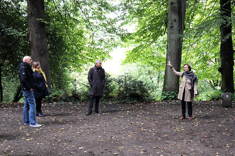 Promenade dans le parc, Waldpark Lousberg, Institut français Aachen , © Judith Eßer