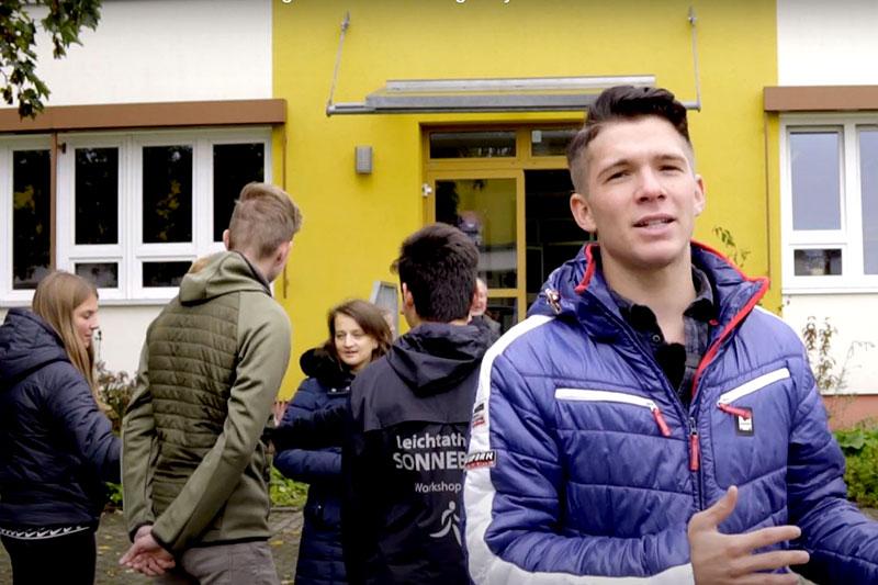 Sonneberger Gymnasium Hortus Studiosus, Screenshot Video, © Paul Klemm
